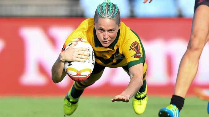 STAR: Australian Jillaroos player Chelsea Baker will soon visit the Fraser Coast.