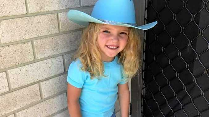 REMEMBERING DOLLY: Casey Lee sent in this pic of a gorgeous little blue cowgirl.