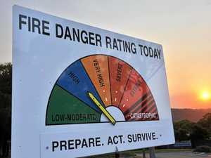 'Dry as a bone': Fire danger, heat for Ipswich, SEQ