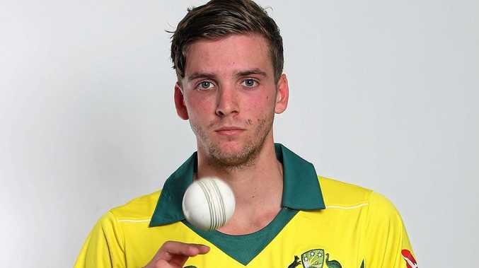 BIG AMBITION: Jhye Richardson hopes to make his ODI debut on Sunday.