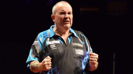 Phil Taylor was unstoppable at the International Pro Darts Series Showdown.