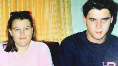 Jason Vance (right) and his sister Rebecca, who has relentlessly lobbied for more information about her missing brother since 2013. Picture: supplied.