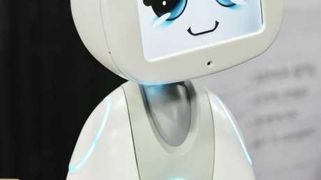 Buddy the companion robot by Blue Frog Robotics. Photo: AFP PHOTO / MANDEL NGAN