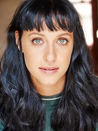 Actress Jessica Falkholt.