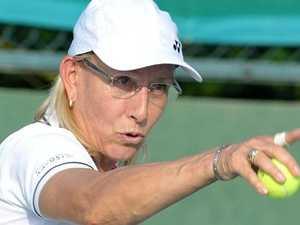 Navratilova's big serve for 'homophobic' Court