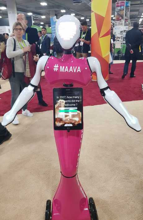 The event bots will welcome your guests. Photo: Tanya Westthorp