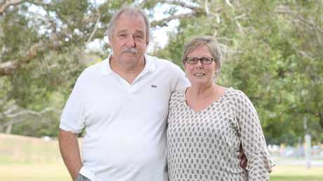 """""""The one thing that is not true is that he did not walk off into the bush and vaporise into thin air,"""" Mr Marriage (left) said. Picture: Richard Gosling."""