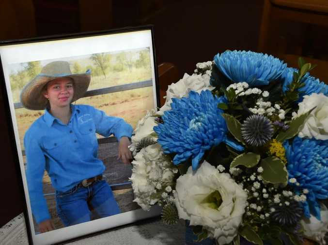Memorial Service at Our Lady of Lourdes School for teen Amy