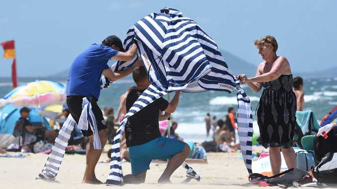 Gale force winds are set to hit the North Coast from this afternoon.