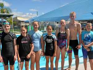 Swimmers on Fast Track