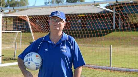 Football Central Queensland general manager Jim Douglas: