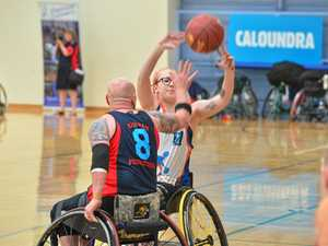 Top talent collides at wheelchair basketball tournament