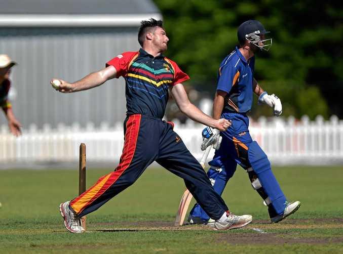 Sunshine Coast Scorchers against Sandgate/Redcliffe T20 cricket match at the John Blanck Oval.