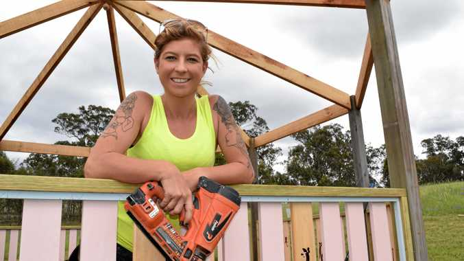 Warwick tradie Sarah McKendry is a finalist in the national hunt for the Tradie of the Year.