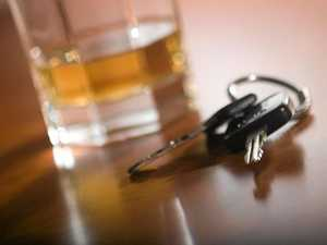 Christmas Day drink driver does circles before crash