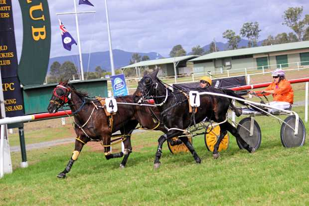 Grass-track harness racing will return to Kilcoy on Friday, January 26 as part of Kilcoy Race Club's Australia Day dual-code meeting.