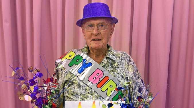 Dexter Kruger enjoyed a range of sweet treats at his birthday morning tea.