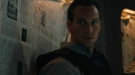 Patrick Wilson in a scene from The Commuter.