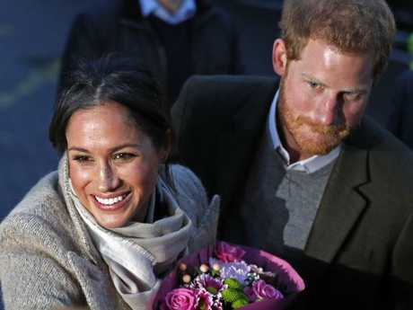 "Samantha Grant, Meghan Markle's half sister, has called Markle and Prince Harry a ""perfect"" couple. Picture: AFP"