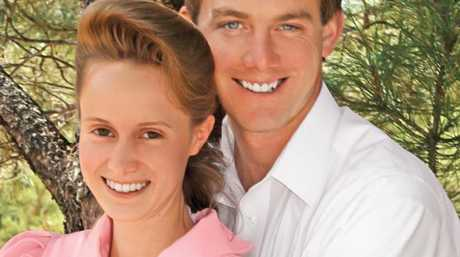 Rachel's polygamist cult leader father married her off to Rich, pictured, when she was 19.