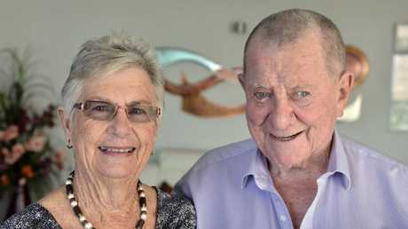 Roy and Nola Thompson have extended their support to the University of the Sunshine Coast. Picture: Patrick Woods