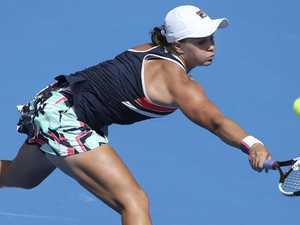 Kerber too strong for Barty in final