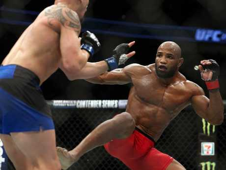 Yoel Romero fights Australian Robert Whittaker.