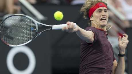 Alexander Zverev is one of the Australian Open favourites. Picture: AAP Images