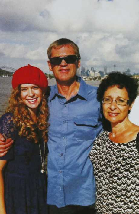 Lars, Vivian and Annabelle Falkholt also died in the crash. Picture: David Swift
