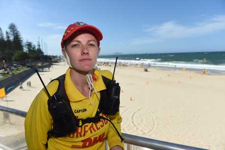 Mooloolaba Surf Club patrol captain Michelle Jacobson.