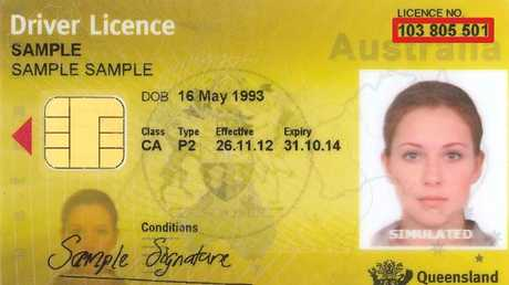 New Queensland driver's licences don't feature a person's gender or height.