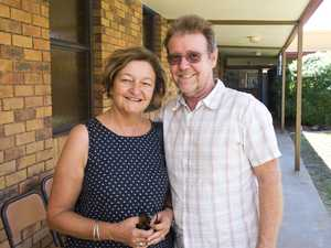 ( From left ) Neroli Holmes and Roger Egerton at the