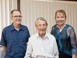 ( From left ) Rod Egerton, Leon Stemler and Celia