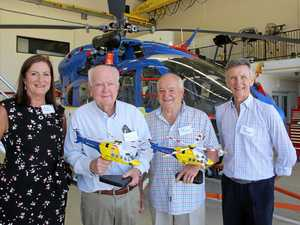 Vital role of chopper chums recognised
