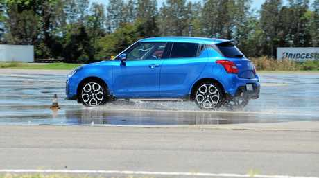 The 2018 Suzuki Swift Sport packs some punch from its turbocharged 1.4-litre petrol engine.