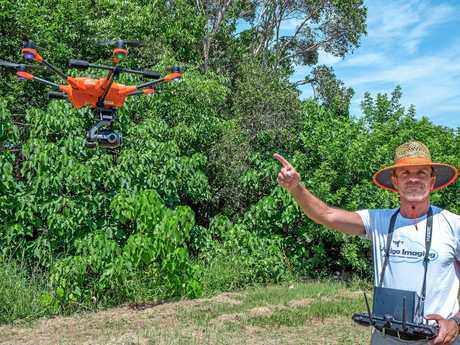 Vertigo Imaging drone specialist Philippe Lamarque sets off his drone on another journey.