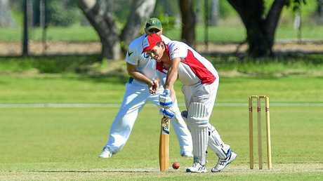 Michael Slatter of Yaralla Cricket Club.