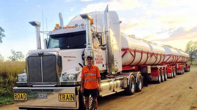 George Vella, 48, died on Saturday in a workplace incident at Vellas Haulage Sarina