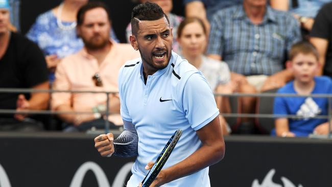 Nick Kyrgios has found a battle worth fighting.