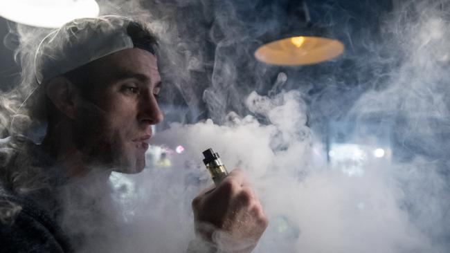 There are fears allowing vaping will 're-normalise' smoking. Picture: Matt Cardy/Getty Images