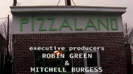 The famous Pizzaland from The Sopranos opening titles.