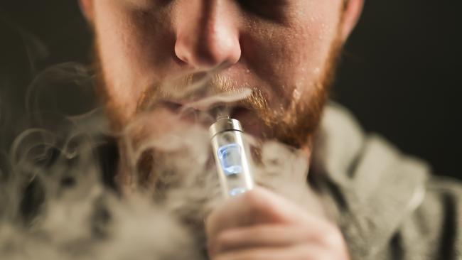 E-cigarettes are about 80 per cent cheaper than conventional cigarettes. Picture: Mark Cranitch.