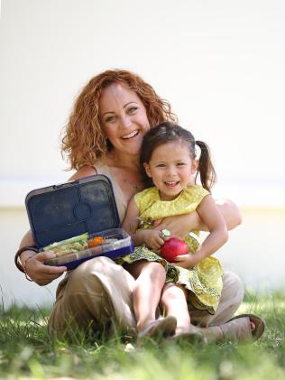 Tara Leong with her daughter Lucy-Belle Leong, 3. Picture: Peter Wallis