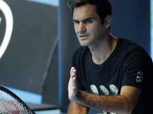 Federer plays down Australian Open title hopes