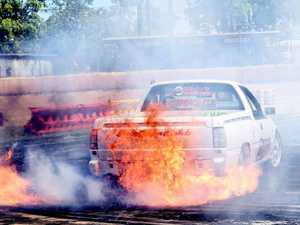 Maryborough Speedway Burnouts