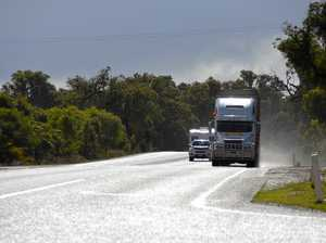 How can I avoid any inconvenience to truck drivers?