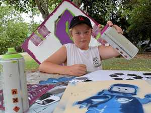 Street art encourages teens' creativity