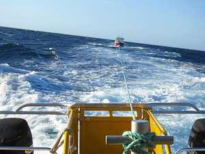 Blockage fuels marine rescue mission