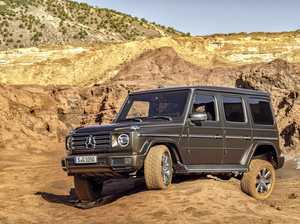 Hardcore Mercedes off-roader finds softer 'G' spot