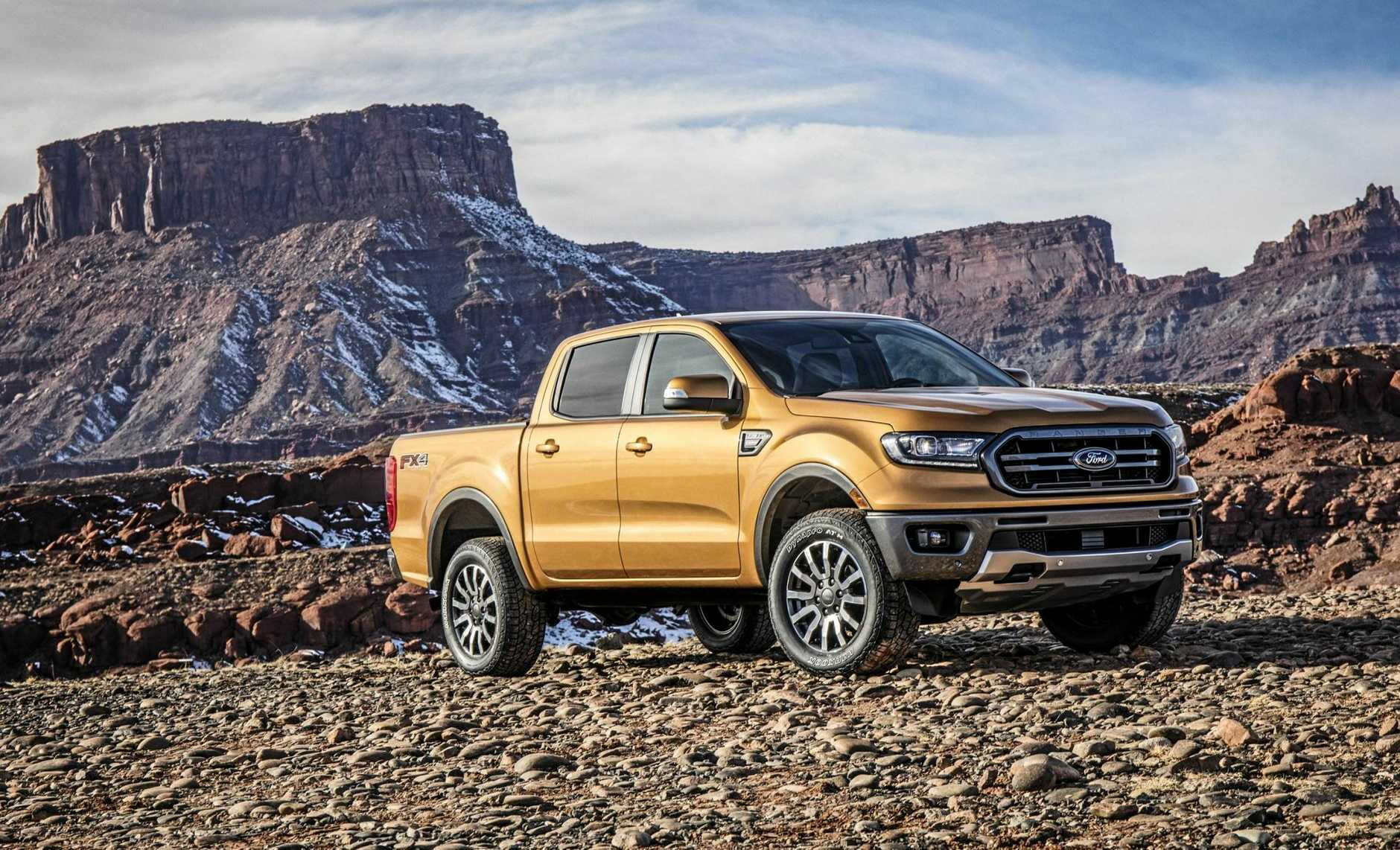 The Ford Ranger gets a new nose and new tech for 2018.